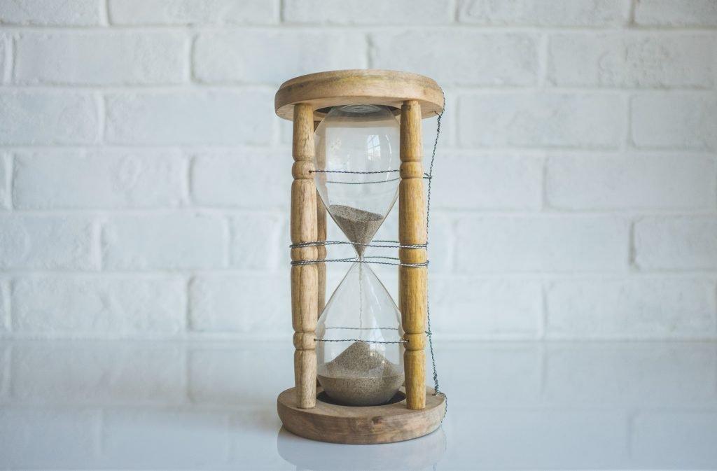 sand bottle for time
